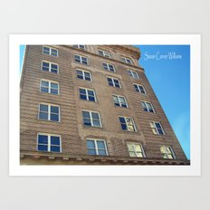 Self Help Credit Union Downtown Durham NC Art Print