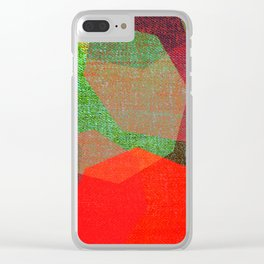 PLAYING LIGHTS Clear iPhone Case