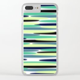 Abstract pattern 154 Clear iPhone Case