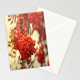 Mountain ash natural pattern Stationery Cards