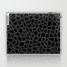 British Mosaic White and Black Laptop & iPad Skin