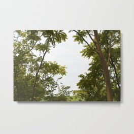 A Tropical Break into Nature Metal Print