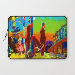 Walter Sickert Brighton Pierrots Laptop Sleeve