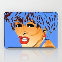 tina crespo iPad Cases featuring Tina Simply The Best by Saundra Myles