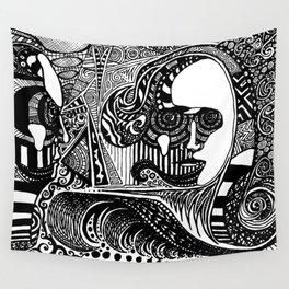 Head Trip Wall Tapestry
