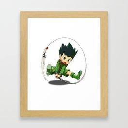 Hunter X Hunter Framed Art Print