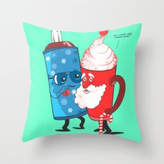 SANTA WANNABE Throw Pillow