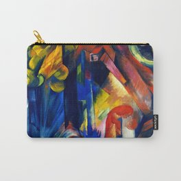 """Franz Marc """"Forest with squirrel"""" Carry-All Pouch"""
