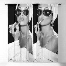 Audrey Hepburn Style Poster Art  Blackout Curtain