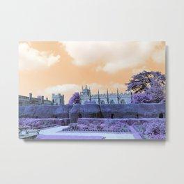 Castle Grounds III Metal Print