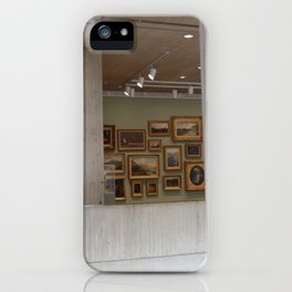 In the Museum iPhone Case