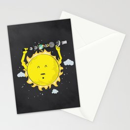 Heating up Stationery Cards