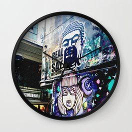 Real Australians Say Welcome Wall Clock