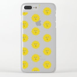 sunshine smiles Clear iPhone Case