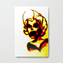 Beauty  Metal Print