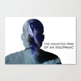 Haunted Mind  Canvas Print