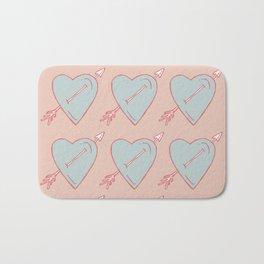 LOVE IS LOVE IS LOVE Bath Mat