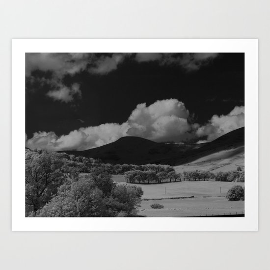 The Hills, 01 Art Print