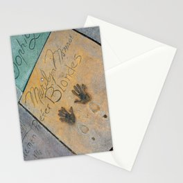 Marilyn Hand Prints in Hollywood Stationery Cards