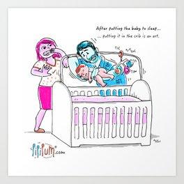 The Crib Art Print