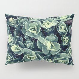 GREEN LEAVES PATTERN [plant nature photography] Pillow Sham