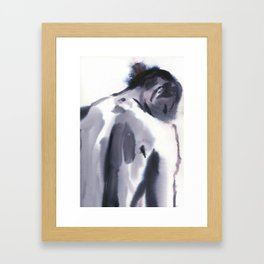 at your side Framed Art Print
