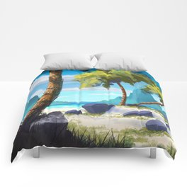 Palma Beach XIX Comforters
