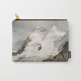 Breathtaking Hanging Glacier With Big Sky, Canadian Rockies Carry-All Pouch