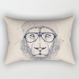 Cool lion Rectangular Pillow