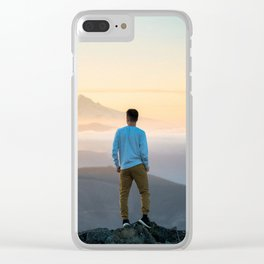 The traveler 1 Clear iPhone Case