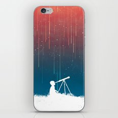 Meteor Rain (light version) iPhone & iPod Skin