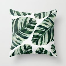 Tropical Foliage #society6 #buyart #decor Throw Pillow