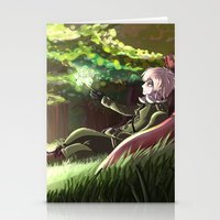 hetalia Stationery Cards featuring Arthur Kirkland by Kurfluffle