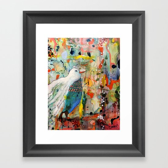 vers toi Framed Art Print