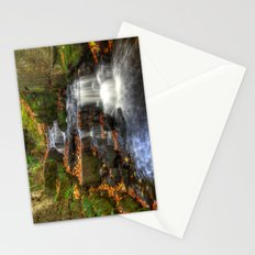Bentley Brook waterfall Stationery Cards