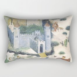 Medieval castle Rectangular Pillow