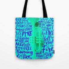 Lyrics & Type - Johnny Cash Tote Bag