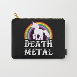 Death Metal Unicorn Carry-All Pouch