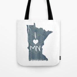 I LOVE MN Tote Bag