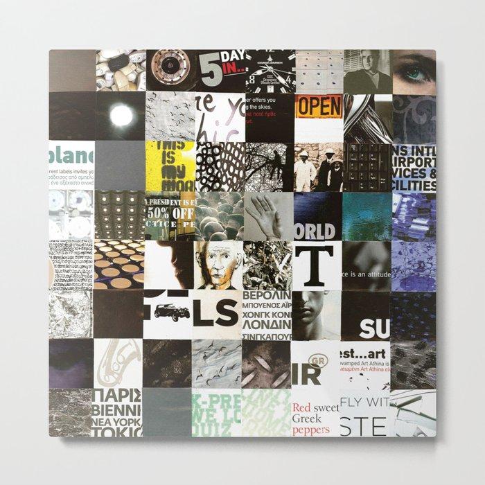 SOUL_Collage Metal Print