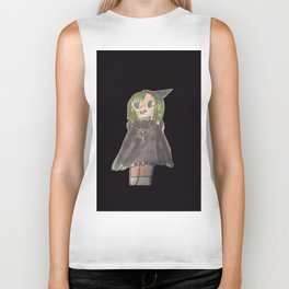 manga witch on hoodie and t-shirts and tank tops part of my DI Fashion Goth line Biker Tank