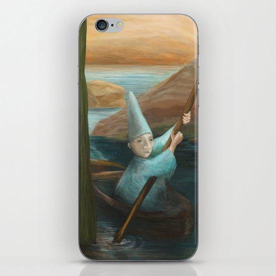 In his Boat iPhone & iPod Skin