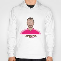 real madrid Hoodies featuring KARIM BENZEMA - REAL MADRID by THE CHAMPION'S LEAGUE'S CHAMPIONS