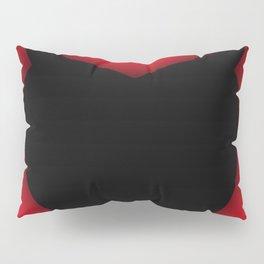 Heart Series Love Black Devil Horns Heart Evil Valentine Gift Pillow Sham