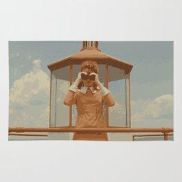 Moonrise Kingdom Lighthouse Rug