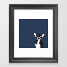 Zoe the Chihuahua Framed Art Print