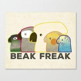 Beak Freak Canvas Print