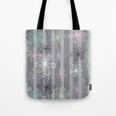 Flower Play Tote Bag