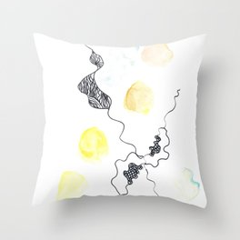 Scandi Micron Art Design | 170412 Telomere Healing 13 Throw Pillow