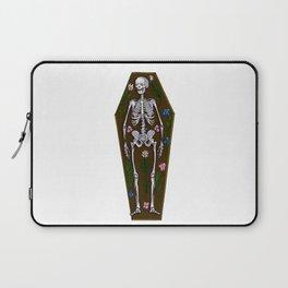 Skeleton Coffin Laptop Sleeve